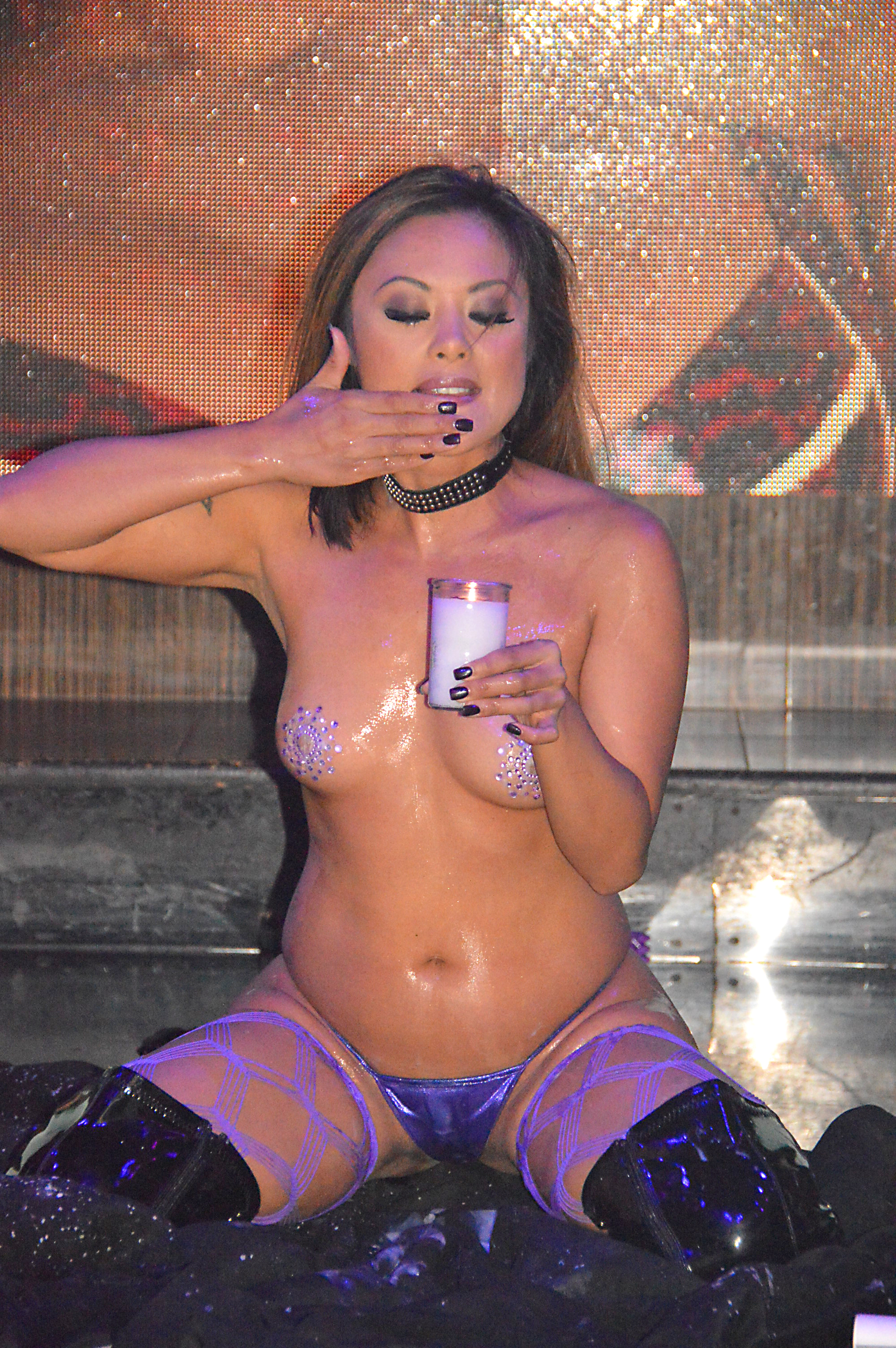 Kaylani Lei @ The Dollhouse July 2015 (9)